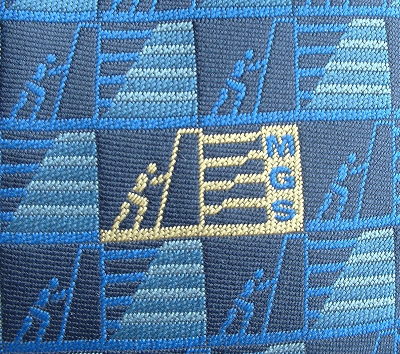 MGS Tie Logo Detail